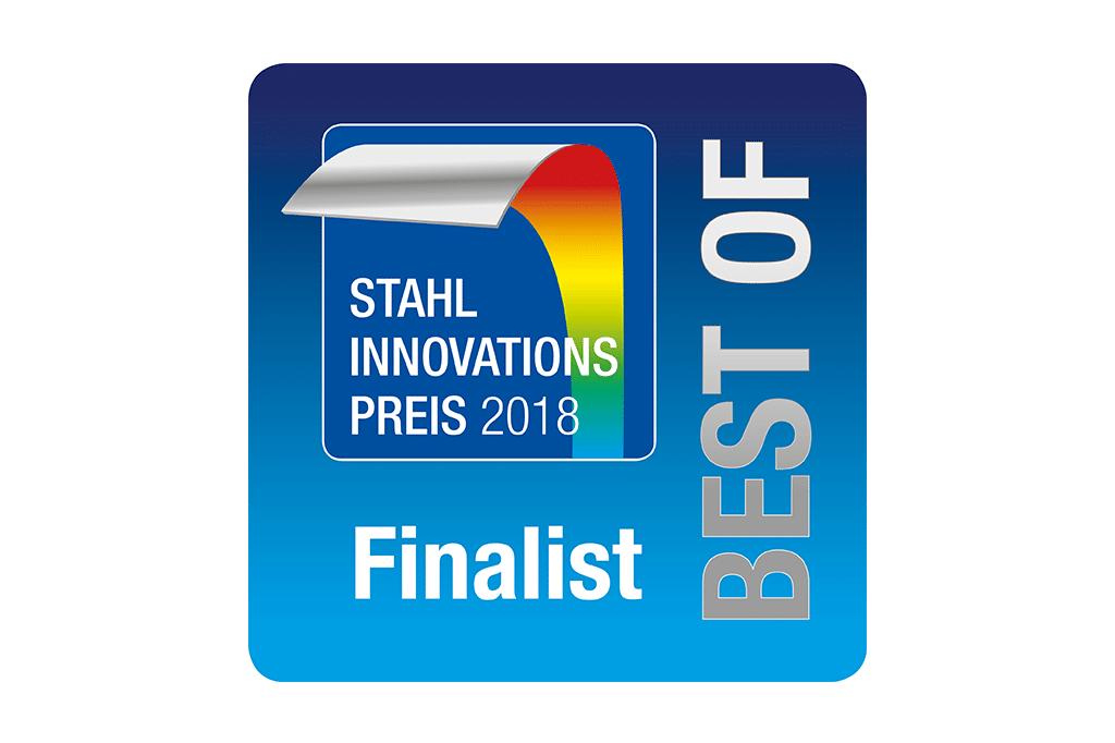 """Ocenenie """"Stahl Innovationspreis"""" pre spoločnosť Schwank GmbH."""