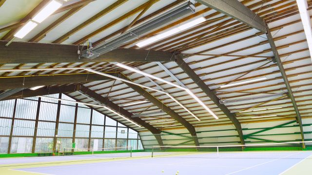 Sports hall heating systems from Schwank