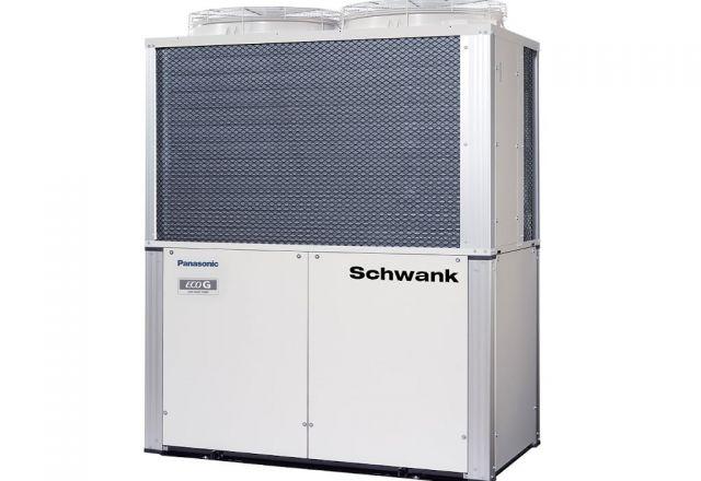 Obrázok produktu plynového tepelného čerpadla ECO-G GE3 od spoločnosti Schwank.