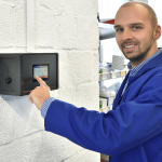 Technológia ovládania SchwankControl Touch od spoločnosti Schwank.